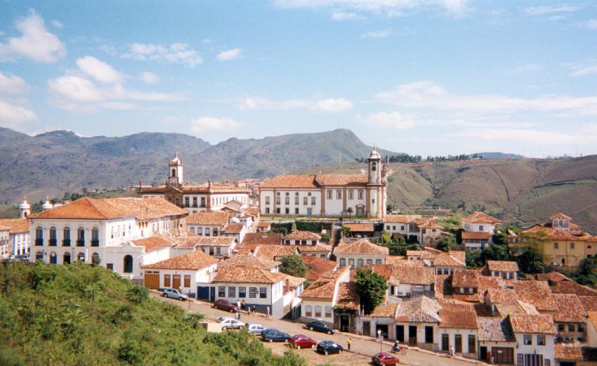 Arquitetura colonial é marca de Ouro Preto. Foto: iStock, Getty Images