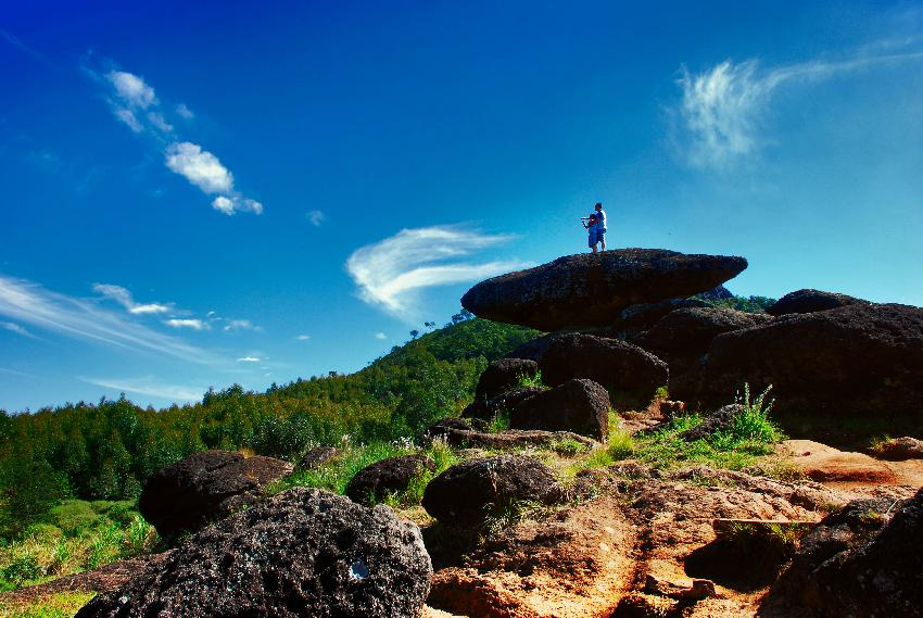 Pedra Balão: obra da natureza em Poços de Caldas. Foto: Vicente Eugenio, CC BY 2.0