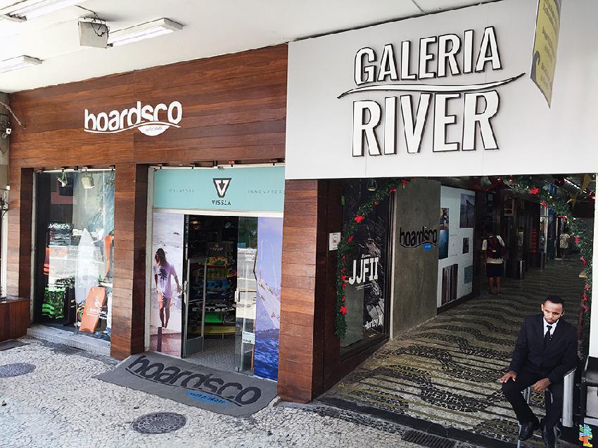 Galeria River: point artístico e cultural. Foto: Divulgação