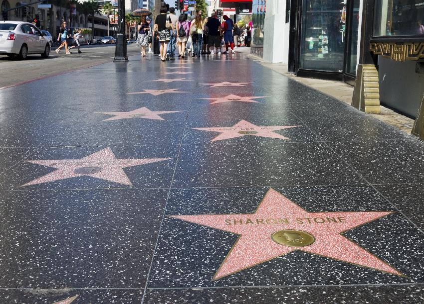 Calçada da Fama homenageia mais de 2000 astros de Hollywood. Foto: iStock, Getty Images