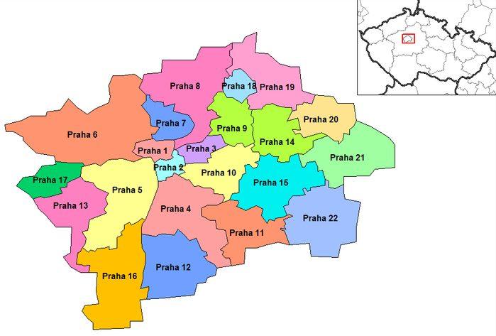 Distritos de Praga
