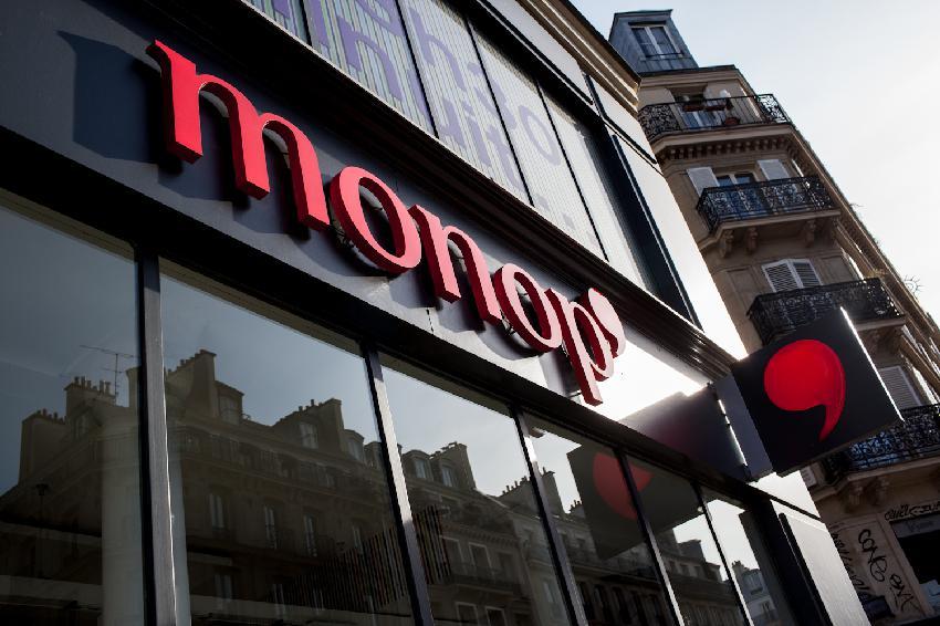 Monoprix na Rue de Rivoli, uma das franquias de supermercados da França. Foto: Julien Paquin, CC BY 4.0