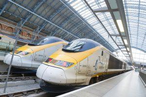 Trem Paris Londres