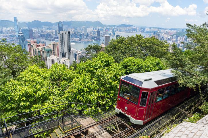 Victoria Peak em Hong Kong