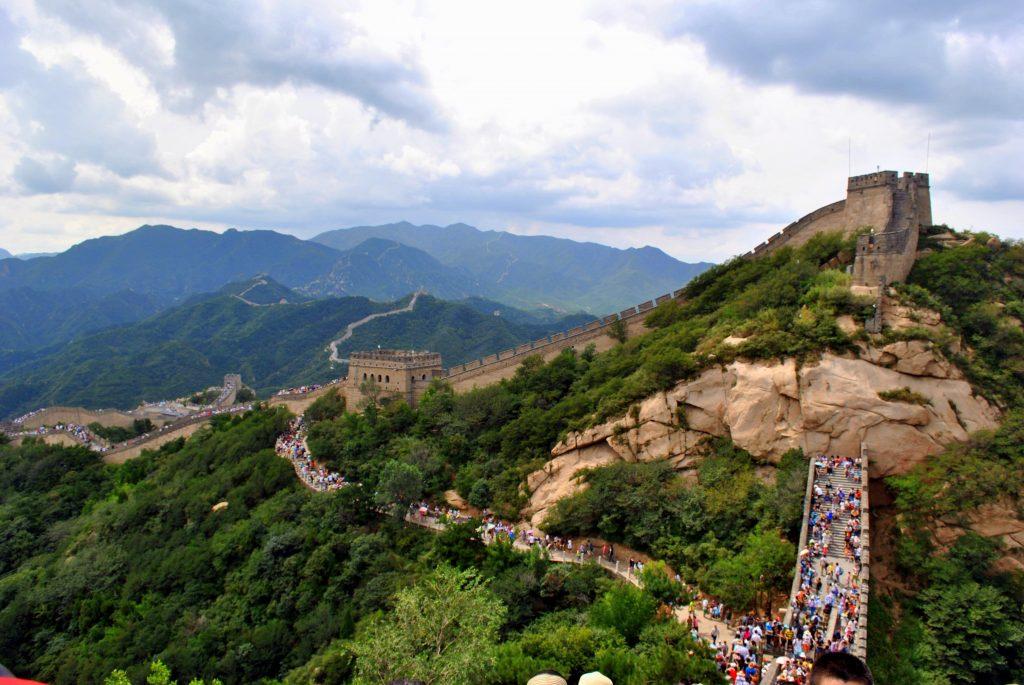 7 maravilhas do mundo paisagem com muralha da china